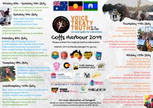 Official NAIDOC Week Calendar 2019