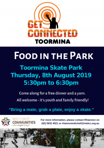 Food in the park poster