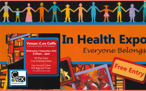 Harmony in Health Expo poster