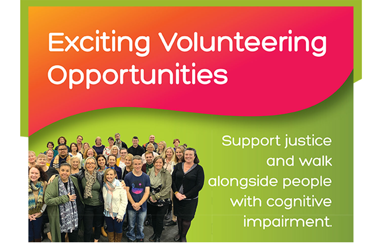 Justice Advocacy Service Poster for Volunteers