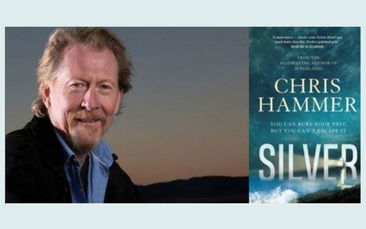 Chris Hammer with Book Silver