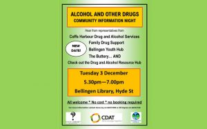 Alcohol and other drugs Information Night