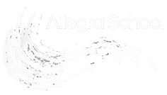 White Allegra School Logo